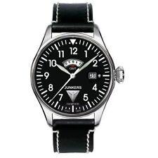 50 m (5 ATM) Quarz-(Batterie) Armbanduhren im Flieger-Stil mit Datumsanzeige
