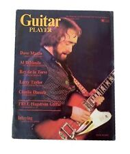 Guitar Player Music Magazine Back Issues