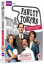 Comedy DVDs and Blu-rays Fawlty Towers