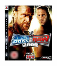 Sony PlayStation 3 Wrestling Video Games with Manual