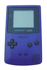 Consoles de jeux vidéo violet pour Nintendo Game Boy Color