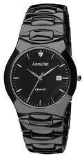 Accurist Quartz (Battery) Silver Case Wristwatches