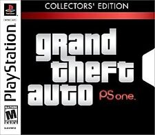 Grand Theft Auto Sony PlayStation 1 18+ Rated Video Games