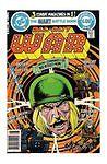 Uncertified 4.0 VG Grade DC Bronze Age War Comics