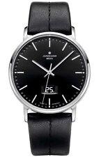 Silberne Junghans Armbanduhren mit Datumsanzeige