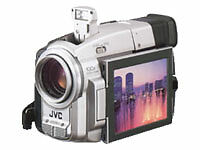 JVC Standard Definition Camcorders with Image Stabilisation