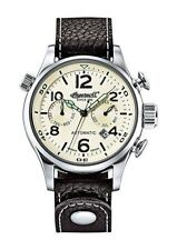 Polierte Mechanisch-(Automatisch) Armbanduhren mit Arabische Ziffern für Herren