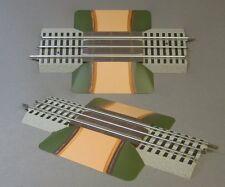 LIONEL FASTRACK GRADE CROSSING 3 rail train track fasttrack road 6-12036 NEW