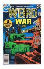 Uncertified Ungraded DC Bronze Age War Comics