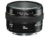 Canon Standard Camera Lenses 50mm Focal