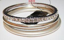 Modeschmuck-Armbänder im Armreif-Stil aus Legierung mit Perlen (Imitation)