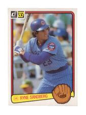 Donruss Rookie Chicago Cubs Ryne Sandberg Baseball Cards