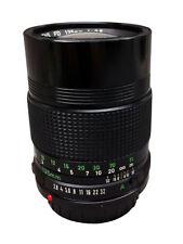 Canon FD Camera Lenses Manual 135mm Focal