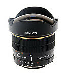 ROKINON Manual Focus Camera Lenses for Canon