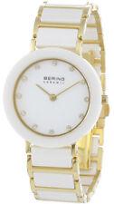 Weiße Armbanduhren aus Edelstahl für Damen