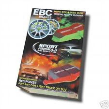 Genuine EBC Front Brake Pads Greenstuff MG Rover Metro  Reliant Part DP2627