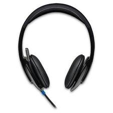 Logitech Computer-Headsets mit Geräuschabschirmung und USB-Anschluss