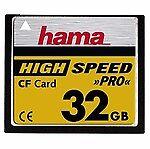 Hama CompactFlash I Speicherkarten mit 32GB Speicherkapazität