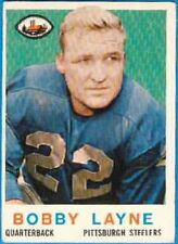 Pittsburgh Steelers Ungraded Original Single Football Cards