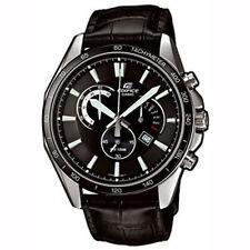 100 m (10 ATM) Polierte Quarz-(Batterie) Armbanduhren aus echtem Leder