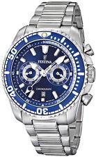 Sportliche Festina Quarz - (Batterie) Armbanduhren mit Chronograph