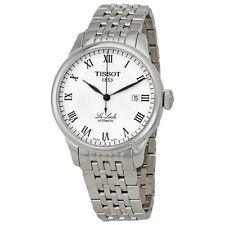 Runde mechanisch - (automatische) Tissot Armbanduhren aus Edelstahl