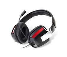 Ohrmuschel-(über-dem-Ohr)-Kabelgebunden TV-, Video-& Audio-Kopfhörer mit Kopfbügel für Gaming