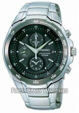 Seiko Stainless Steel Case Men's Watches with Chronograph