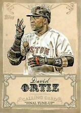 David Ortiz Boston Red Sox Modern (1981-Now) Baseball Cards