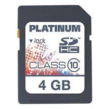 Geschwindigkeitsklasse Class 10 Speicherkapazität 4GB Speicherkartenformat SDHC Handy-Speicherkarten