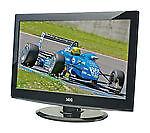 Schwarze LCD-Fernseher mit 768p max. Auflösung