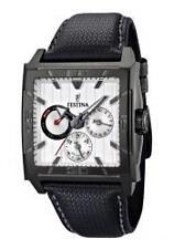 Polierte Festina Armbanduhren mit Datumsanzeige für Herren