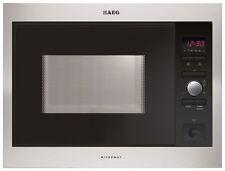 Stainless Steel Built - in AEG Microwaves