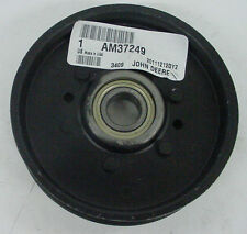 "JOHN DEERE Genuine OEM Flat 4.5"" Idler Pulley AM37249 48"" 54"" 38"" mower decks"