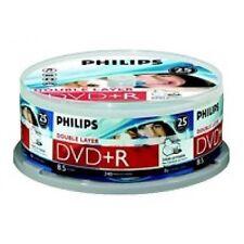 Philips CD-, DVD-R-Rohlinge für den Computer mit 8,5GB Speicherkapazität