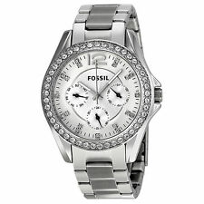 Stainless Steel Case Women's Quartz (Battery) Fossil Watches