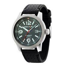 9 Sector Armbanduhren aus Edelstahl