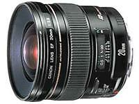 DSLR Wide Angle Camera Lenses 20mm Focal