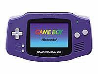 Consoles de jeux vidéo violet pour Nintendo Game Boy Advance