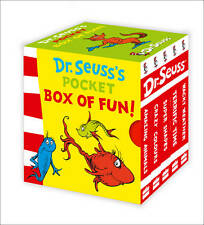 Dr. Seuss Board Picture Books for Children in English