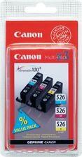 Canon CLI-526 Tri-Colour Printer Ink Cartridges