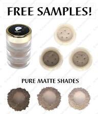 Matte Brown Trio Eye Shadows
