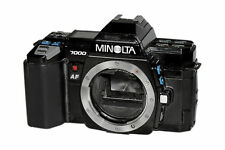 Minolta Film Cameras with Manual Program Modes