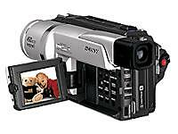 Sony Hi8 Camcorder mit LCD-Display