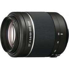 Sony An Auto & Manual Focus Camera Lenses 200mm Focal