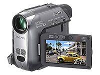 Camcorder mit MiniDV und Touchscreen