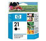 HP 21 Black Printer Ink Cartridges