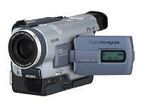 Sony Hi8 Camcorder mit integriertem Mikrofon