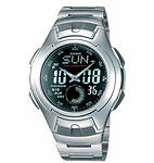 Stainless Steel Case Adult Analogue & Digital Watches