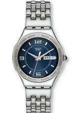 Bis zu 30 m (3 ATM) wasserbeständige Swatch Armbanduhren mit Datumsanzeige